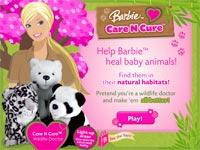 Barbie Baby Sitter E Veterinaria