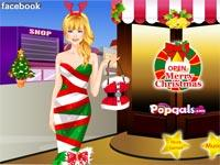 Christmas Pop Star Dress Up