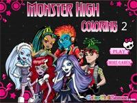 Colora Le Monster High 2