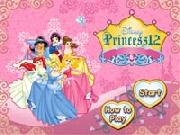 Disney Princess 12 Card