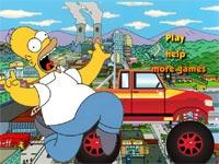Homer Monster Car