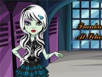 Monster High Frankie Stein A Scuola