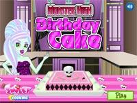 Monster High Torta Di Compleanno