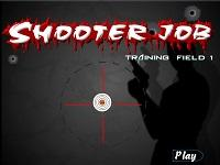 shooter job pistola al poligono