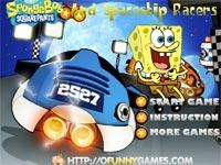 Spongebob And Spaceship Racers