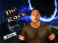 The Rock Makeup
