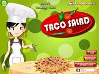Cucina Con Sara Insalata Di Taco Gratis - Giochi in Flash
